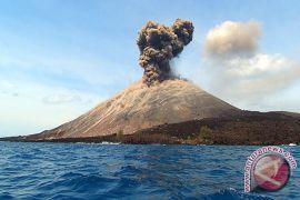 Gunung Anak Krakatau alami 153 kegempaan letusan