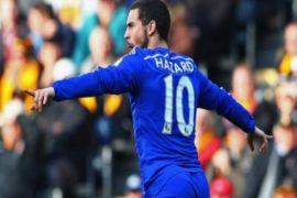Hazard sumbang dua gol