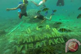 Pengunjung Pulau Pahawang Menurun Akibat Cuaca Buruk