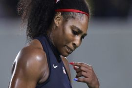 Serena Williams gagal juara