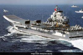 Kondisi tegang, kapal induk China melintas dekat Selat Taiwan