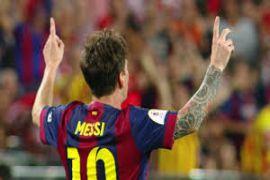 Messi kian melesat