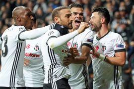 Besiktas Melaju ke Fase Gugur Liga Champions Untuk Pertama Kalinya