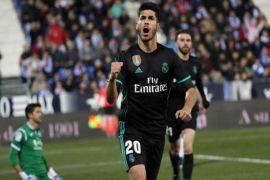 Asensio bawa Real menang 1-0 atas Leganes