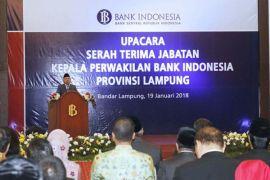 Gubernur BI apresiasi pertumbuhan ekonomi Lampung