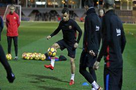 Coutinho siap dimainkan pada Piala Raja