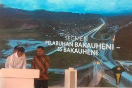 Presiden resmikan Tol Trans Sumatera di wilayah Lampung