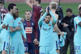 Suarez dan Alba pastikan kemenangan Barca
