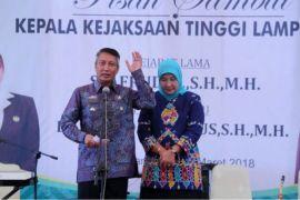 Pemprov-Kejati Lampung terus kawal penegakan hukum
