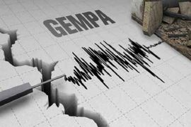 Gempa 5,2 SR landa Pesisir Barat Lampung