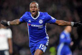 Gol Moses bawa Chelsesa menang atas Burnley