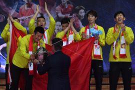 China raih Piala Thomas 2018