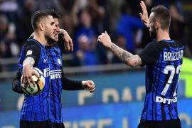 Tundukkan Lazio Inter lolos ke Liga Champions