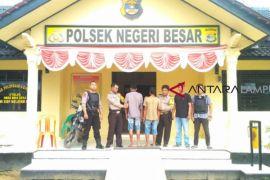 Aparat Polsek Negeribesar tangkap dua pencuri