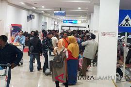 Penumpang Bandara Radin Inten naik 15 persen