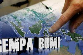 Lombok diguncang gempa bumi  4,8 SR