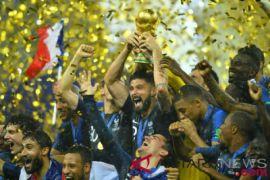Prancis juarai Piala Dunia untuk kedua kalinya