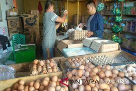 Harga telur dan daging bertahan tinggi