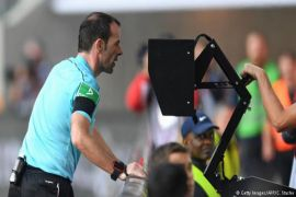 VAR digunakan pertama kalinya di Final Piala Dunia