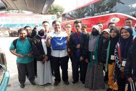 BUMN Hadir - peserta SMN kunjungi rumah kreasi edukasi Lampung