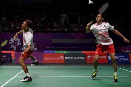 Fajar/Rian tumbang pada semifinal Hong Kong