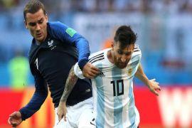 Griezmann merasa selevel dengan Ronaldo dan Messi