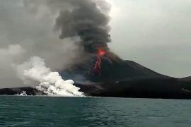 Gunung Anak Krakatau alami gempa tremor menerus