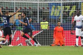 Akhirnya Inter balikkan keadaan untuk menang 2-1 atas Tottenham