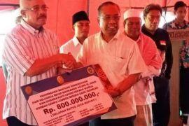 Ketua MA Serahkan Bantuan untuk Lombok