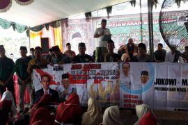 Ratusan santri deklarasikan dukungan terhadap Jokowi-Ma'ruf