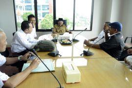 Wali Kota Bandarlampung audiensi dengan ANTARA