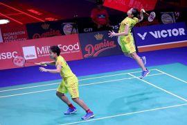 Dua ganda putri Indonesia bertemu pada perempat final Denmark Terbuka