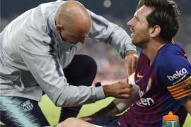 Messi cedera kala Barca tundukkan Sevilla