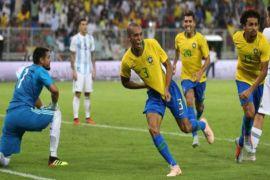 Gol miranda bawa Brasil kalahkan Argentina