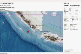 Gempa Magnitudo 3,9 Guncang Pesisir Barat Lampung