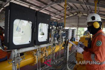 Penyaluran gas PGN untuk PLTG Lampung
