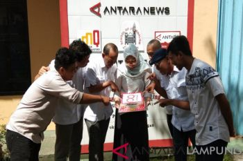 HUT ke-81 LKBN ANTARA Biro Provinsi Lampung