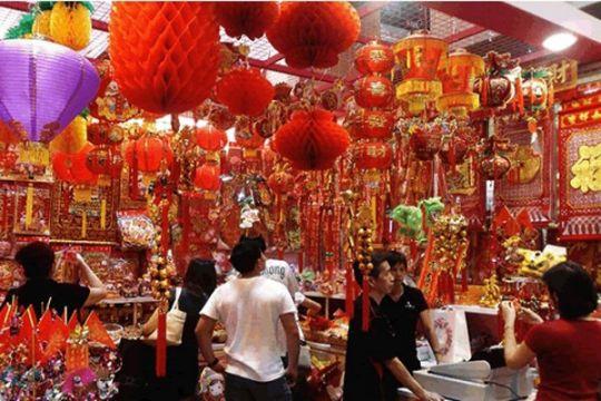 China raup Rp175 triliun pada hari pertama Imlek