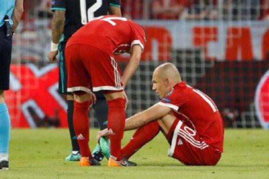 Bayern kalah ketika Robben, Boateng dan Martinez cidera