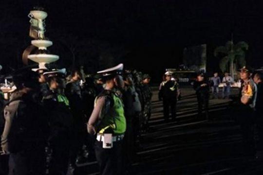 Cegah  kriminalitas Polres dan Kodim Waykanan patroli bersama