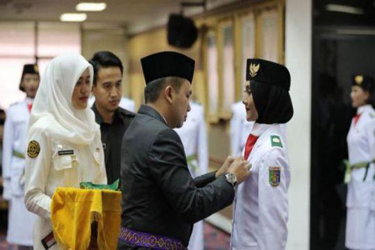Gubernur Lampung kukuhkan paskibraka