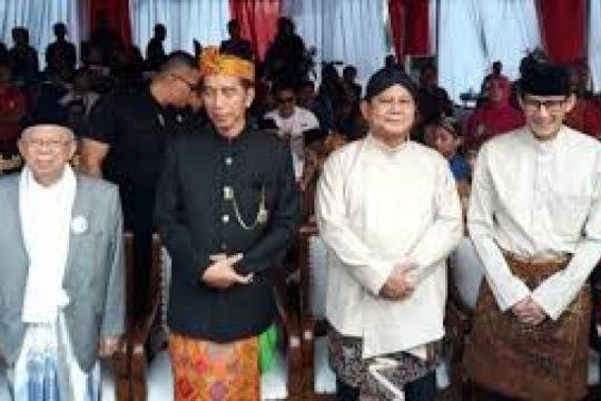 Perbandingan dana kampanye awal Jokowi-Ma'ruf dengan Prabowo-Sandiaga
