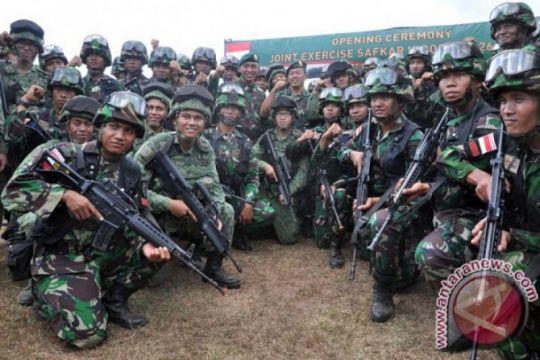 Latihan TNI-AD dan AD Singapura antisipasi konflik regional
