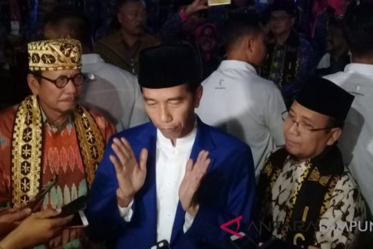 Presiden Joko Widodo Buka Silaknas di Lampung