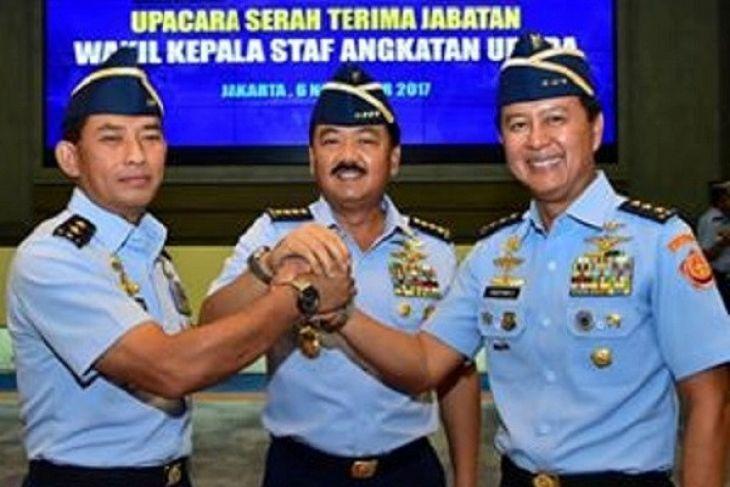 salam komando 3 pati TNI AU ( sumber :lampung.antaranews.com)