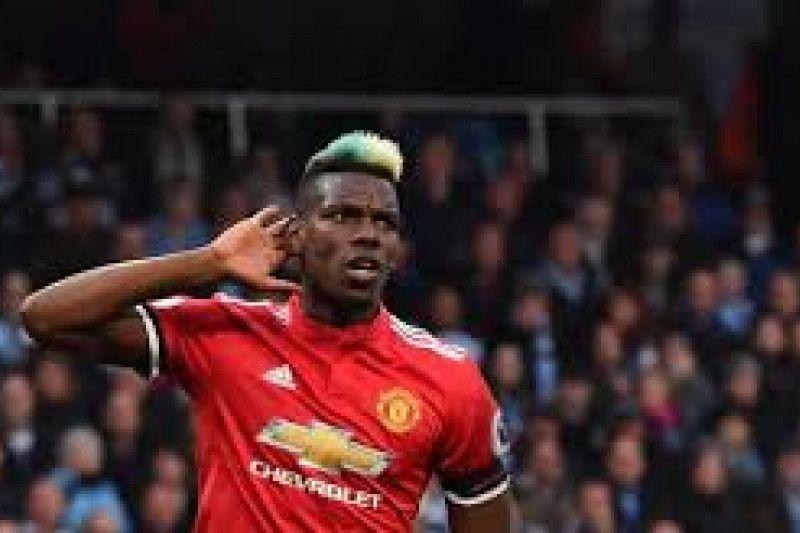 Pogba menikmati perannya di United sebagai penyerang