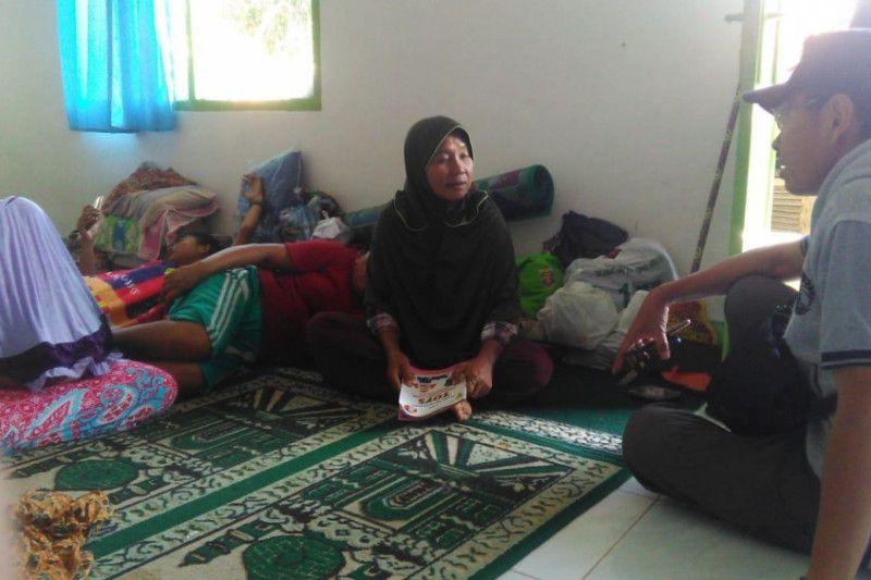 TNI dan tim UI Peduli berikan pemulihan mental psikologi korban tsunami