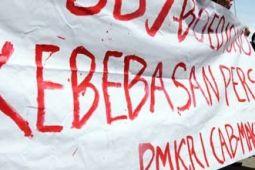 Kekang kebebasan pers, wartawan tolak Undang-undang MD3