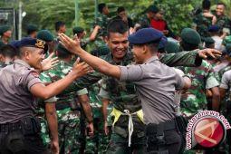 Gubernur Sulsel Puji Kekompakan TNI Dan Polri
