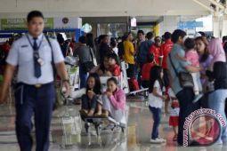 Hasanuddin airport sees 128 percent surge in int`l flight passengers